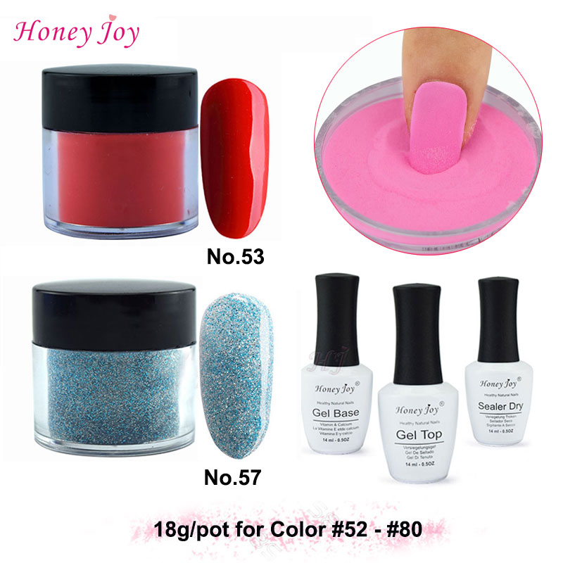 Very Fine 18g/Box Dipping Powder Without Lamp Cure Nails