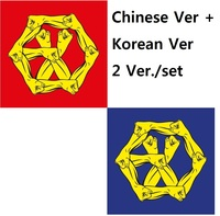EXO 4th Album REPACKAGE THE WAR THE POWER OF MUSIC CHINESE Ver Korean Ver 2 Version