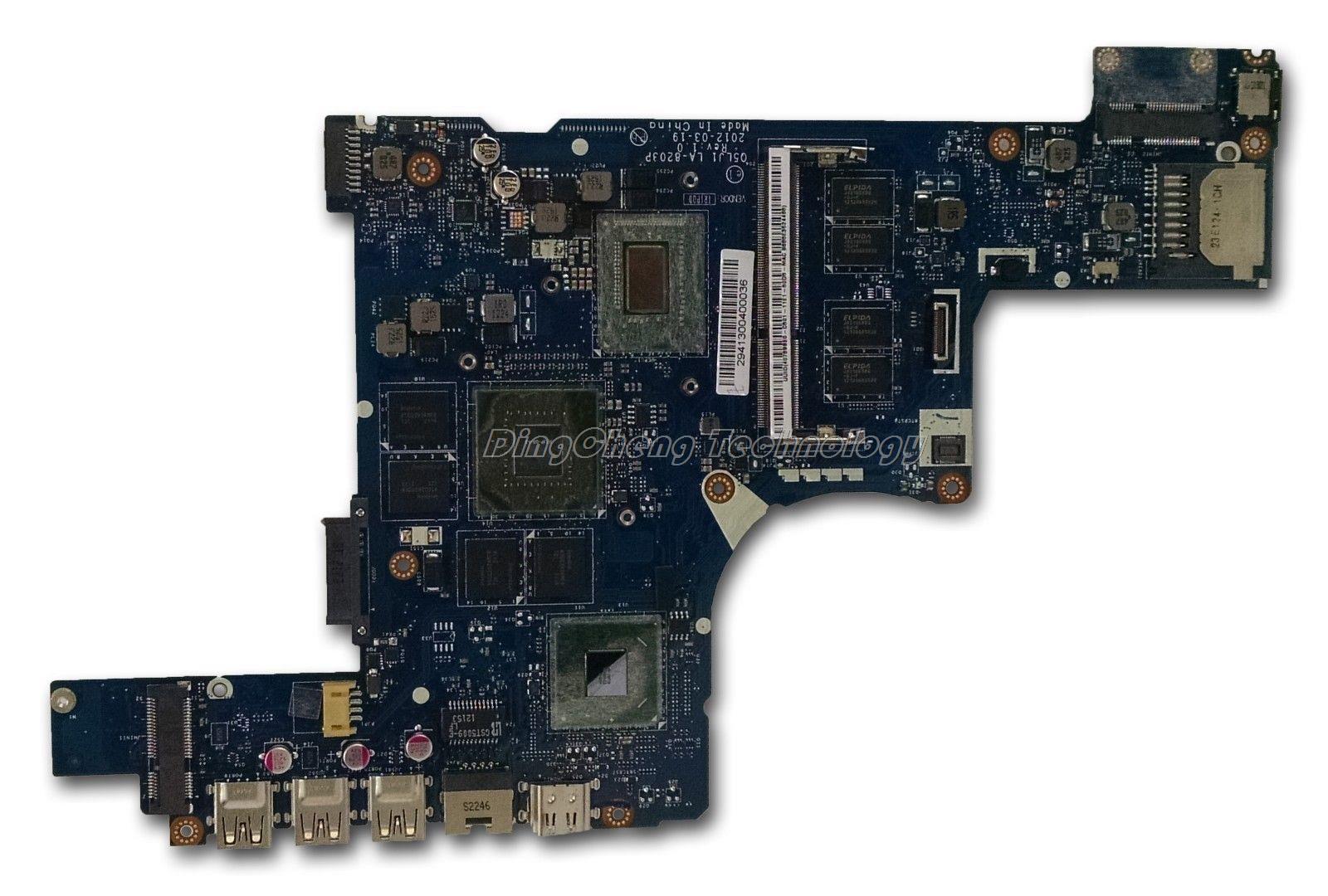 Laptop Motherboard For font b Acer b font M5 581T NBM2G11001 Q5LJ1 LA 8203P i5 3317U