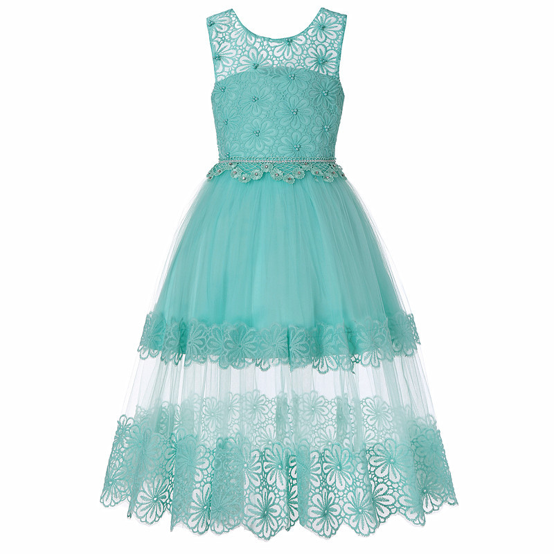 Childrens Lace Princess Dress Big Childrens Princess Dress Girls Clothes 4-12 YearsChildrens Lace Princess Dress Big Childrens Princess Dress Girls Clothes 4-12 Years