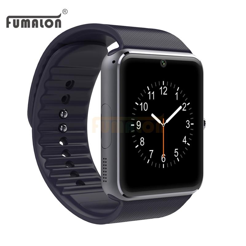 Sincronización de reloj smart watch t08 notificador tarjeta sim soporte de conec