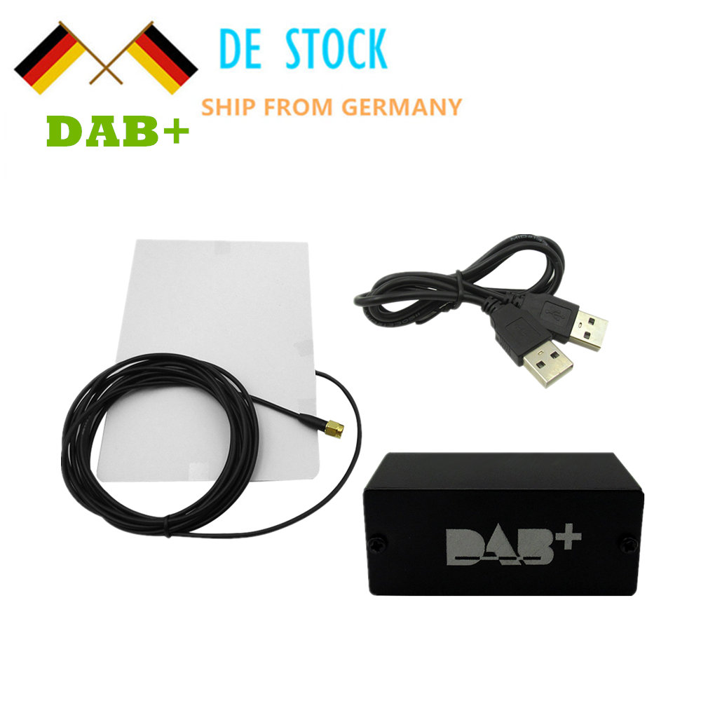 Европейский Универсальный DAB + USB кабель антенный usb dongle для android-dvd-плеер автомобиля dab-антенны для Android DAB 5,1 6,0 применение