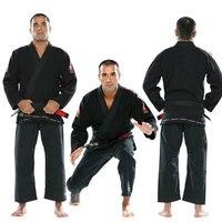 Top Quality Brazylia Judo Brazylijskie Jiu Jitsu KORAL Bjj Gi Gi Klasyczny Czarny Niebieski Biały Obecne biały Pas kung fu A1-A5