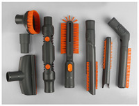 Vacuum Cleaning Kit Attachement Kit Dusting Dusting Brush Nozzle Crevices Tool Upholster Tool for 32mm & 35mm Vacuum