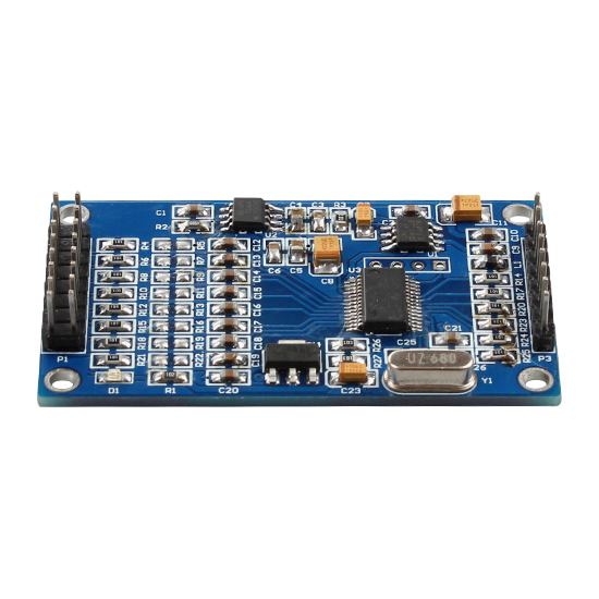 Image 3 - ADS1256 24 bit 8 channel ADC AD module High precision ADC Collecting data acquisition card-in Electronics Stocks from Electronic Components & Supplies