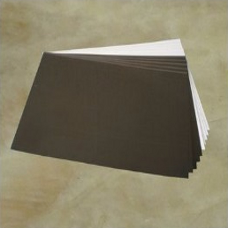 Back Adhesive <font><b>PVC</b></font> <font><b>Sheets</b></font> for Flush mount album making 310x460x0.3mm 200pcs photo book supplies image