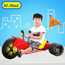 2017 Free Shipping Children's three-wheeled drifting pedal karts children's bicycles Ride On Cars