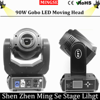 90W LED Moving Head Light 3 Face Prism Spot Light With Rotation Gobo Function For DJ