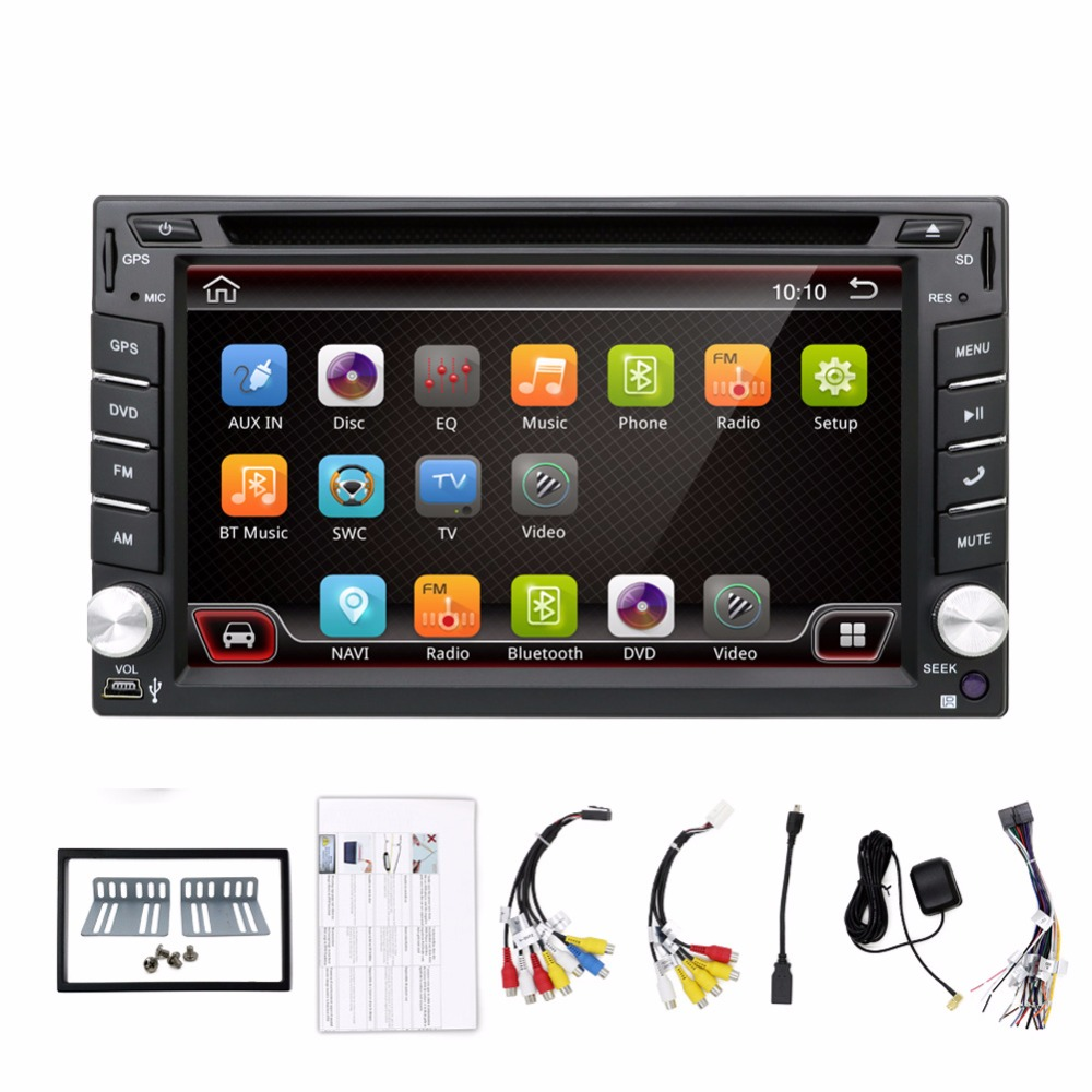 auto android car audio audio gps navigation 2din car stereo stereo radio car gps bluetooth. Black Bedroom Furniture Sets. Home Design Ideas