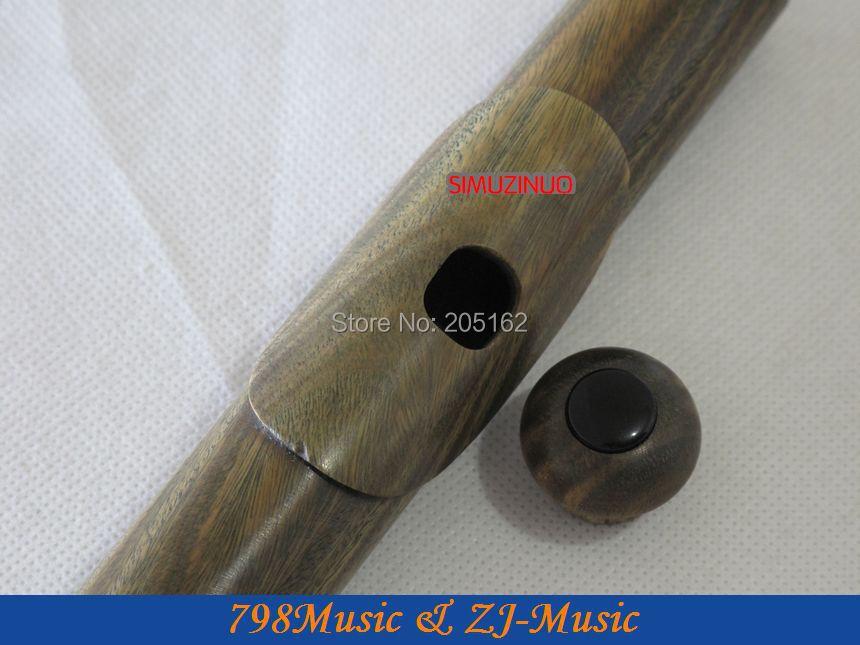 PROFESIONALUS Žalia sandalmedžio fleita-B koja atvira skylė-padalijama-E-kompensuota-G-Amerikos headjoint-NO.1