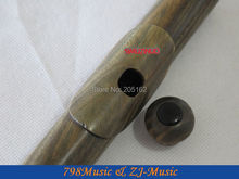 лучшая цена PROFESSIONAL Green Sandalwood Flute-B foot-Open Hole-Split-E-Offset-G-American Headjoint-NO.1