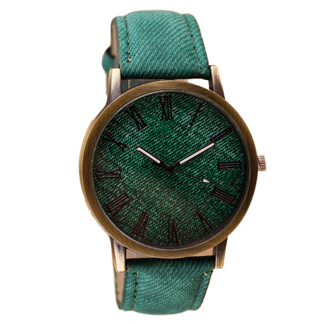 Classic Ladies Fashion Watches Women Leather Stainless Men women Stainless Steel  Wrist Watch VE001