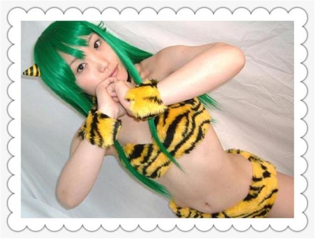 Urusei Yatsura Lum Invader Uniforms Cosplay Costume Custom Made Free Shipping A