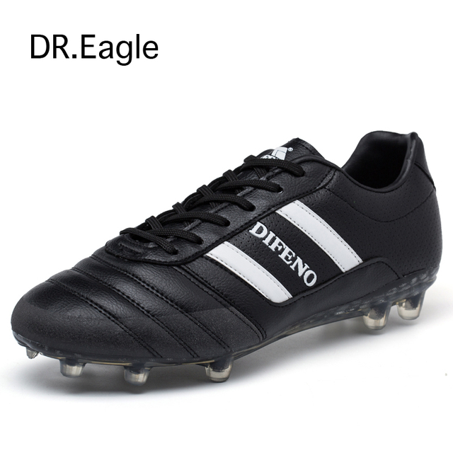 47e14b8f6 Soccer shoes for boys kids football boots children school teens AG spike  for football training sneakers soccer cleats 33-44