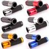 Universal 7/8'' 22MM CNC Motorcycle handlebar grip handle bar Motorbike handlebar grips 6 colors for option