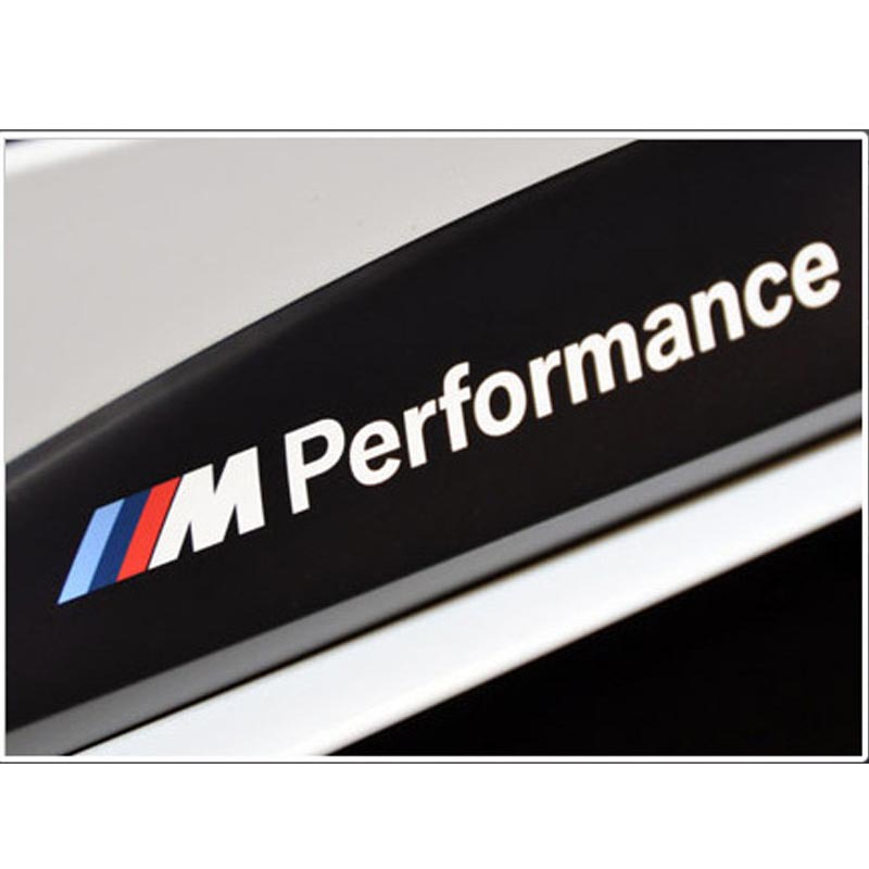 M Performance Car Stickers Decals for BMW Exterior or Interior
