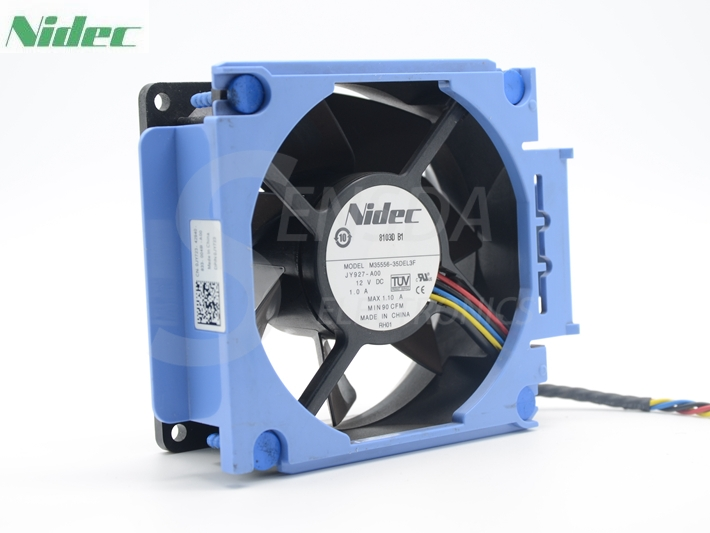 Nidec M35556-35DEL3F JY927 JY723 fan For DELL PowerEdge T300 server cooler
