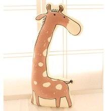 3D Dimensional simulation giraffe plush toy large 65cm soft long throw pillow,cushion birthday present Xmas gift c834
