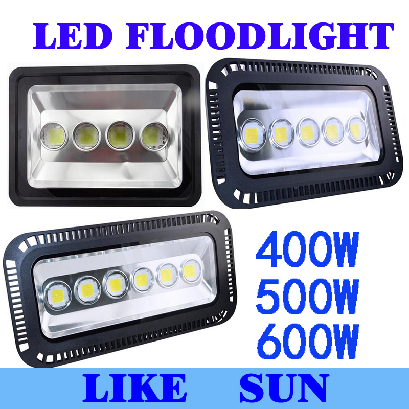 AC85 265V 400W 500W 600W LED Floodlight Outdoor LED Flood light lamp waterproof LED Tunnel light