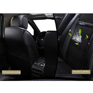 Image 4 - New Luxury leather Universal car seat cover for KIA K2K3K5 Kia rio ceed Cerato Sportage Optima Maxima carnival car cushions car