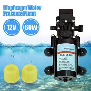 Image 2 - DC 12V Water Self Priming Diaphragm Pressure Pump for Caravan/RV/Boat/Marine Boat Extremely Efficient