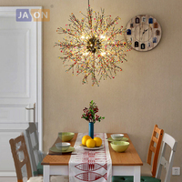 led g4 Postmodern Iron Colorful Pearl LED Lamp LED Light.Pendant Lights.Pendant Lamp.Pendant light For Dinning Room Foyer Store