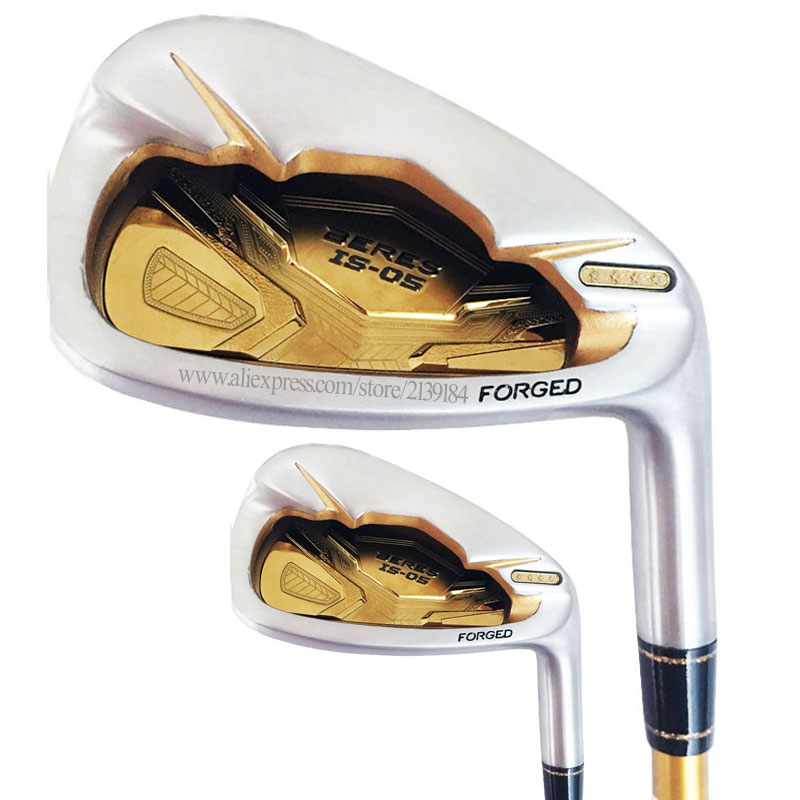 New Irons Golf Clubs S-05 4star Golf Irons set 4-11 Aw Sw HONMA Irons Graphite Golf shaft Clubs Set Cooyute Free shipping
