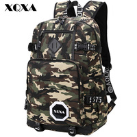 Fashion Men S Backpacks Tactical Army Green Camouflage Sport Backpack Cool High School Bags For Teenagers