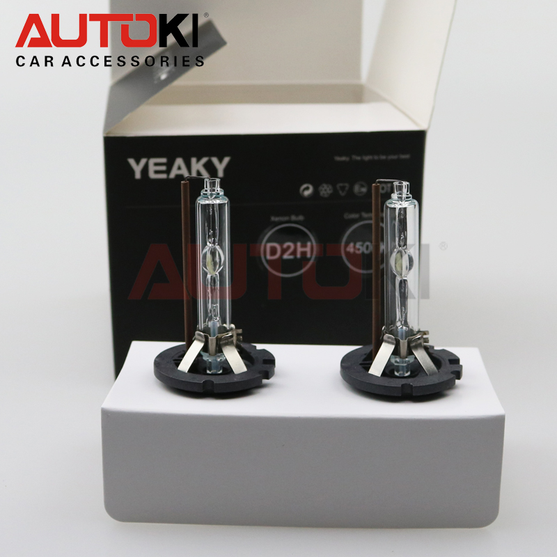 Autoki Yeaky Series 35 Вт 12 в супер яркая фотолампа 4500K 5500K 6500K Hid ксеноновая лампа D2H HID