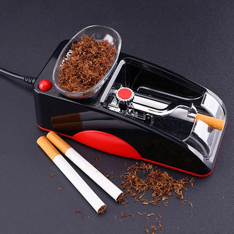 Electric Automatic Cigarette Rolling Machine Injector Maker Tobacco Roller 66CY(China)
