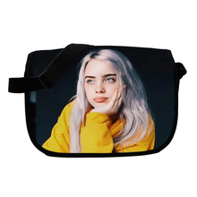 Billie Eilish Messenger Bag Men Women Crossbody Handbag Boys Girls Travel Shoulder Bags Kids Small Flap Cross Body
