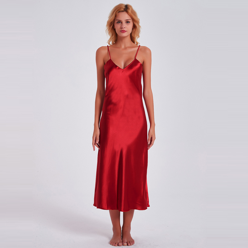 Fiklyc underwear 2019 spring sexy women's long nightdress + bathrobes two pieces robe & gown sets nighties HOT satin sleepwear 2