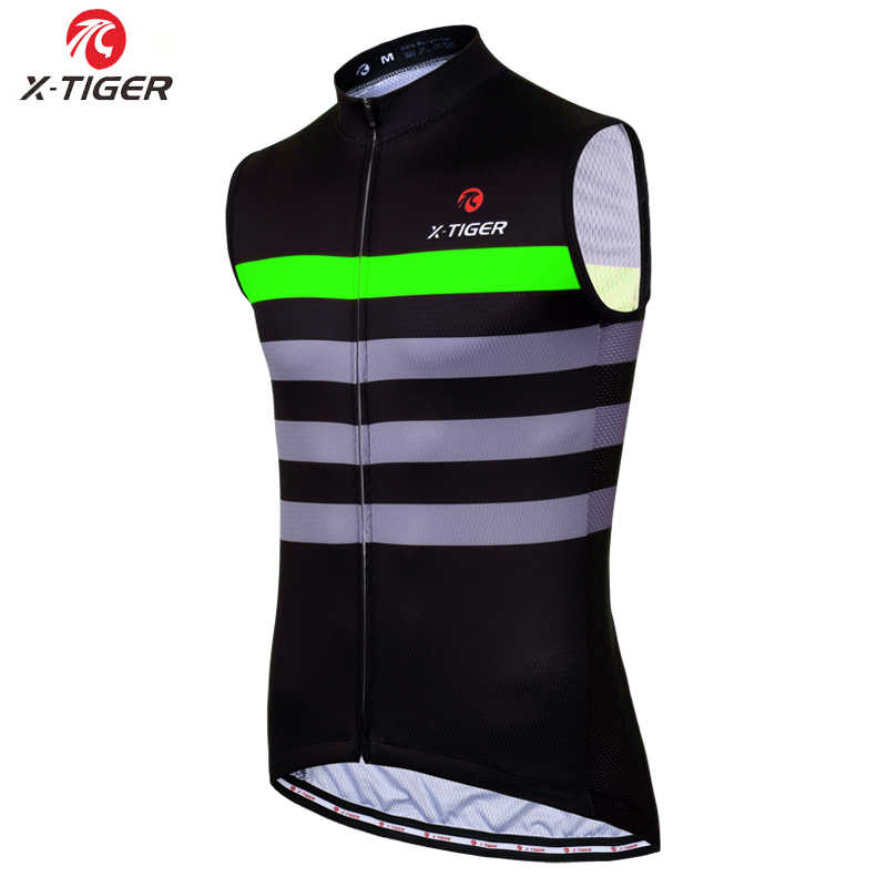 X-Tijger Mouwloze Fietsen Vest Zomer Racefiets Kleding 100% Polyester Fiets Kleding Hombre Maillot Roupa Ciclismo