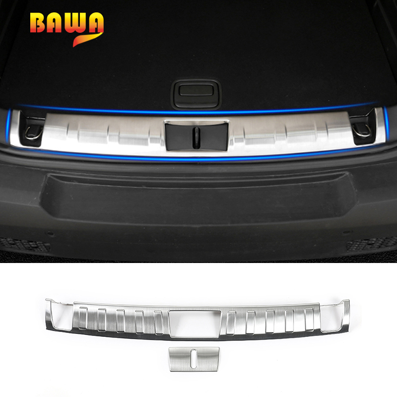 BAWA Interior Mouldings for Jeep Renegade 2016 2017 Trunk Protect Door Sill Accessories for Jeep Renegade