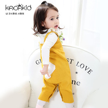 Kacakid childrens wear baby girls sleeveless Knitted Rompers Kids knitted clothes rompers climbing sweater