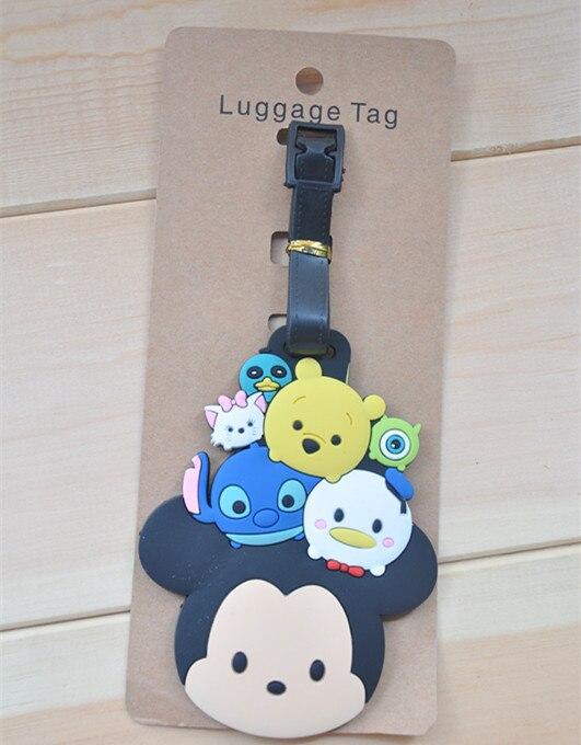 Disney cartoon Mickey Mouse luggage tag Minnie TSUM