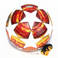 2019 finals Soccer Ball Madrid 19 Final Balls Size 5 Match football ball PU high grade seamless paste skin