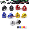 For KAWASAKI Z250 Z300 NINJA 250R/300R Motorcycle FRONT BRAKE MASTER CYLINDER & BRAKE CLAMP Screw Nut Cap 4Pcs 5 Colors