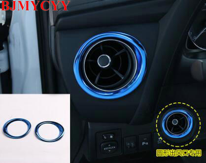 BJMYCYY Car styling decoration ring on both sides of the dashboard of automobile dashboard For Toyota corolla 2017 tp35910 13011 16200 automobile car piston ring for toyota engine code 4age