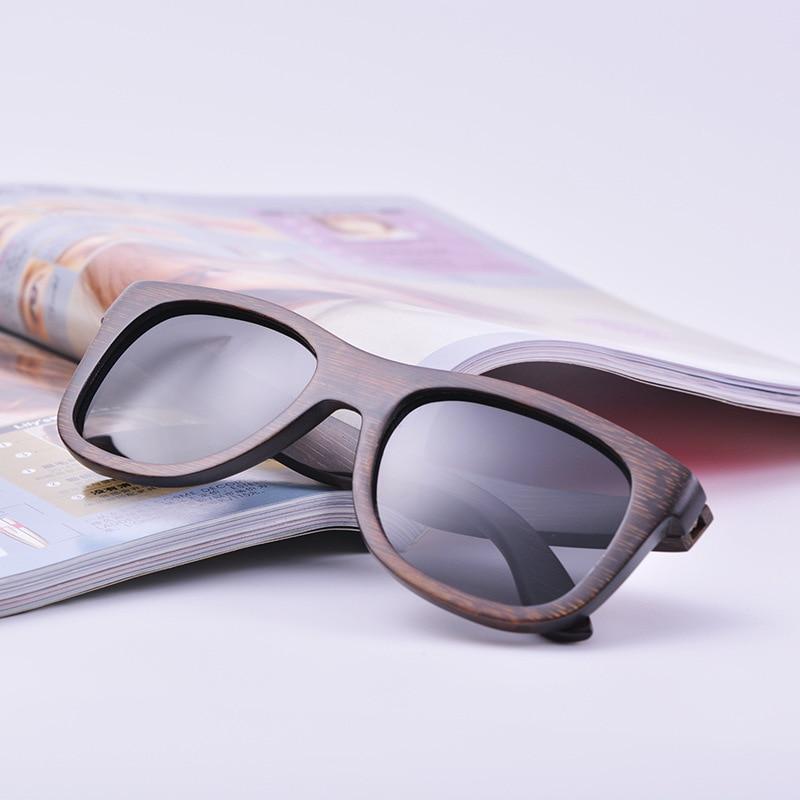 2018Men Wanita Keren Kacamata Fashion Terpolarisasi Kacamata Kayu - Aksesori pakaian - Foto 6