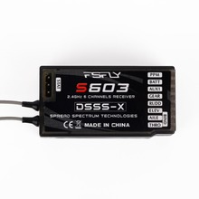 S603 Digital Spread Modulation 6CH Receiver For JR RC Helicopter Plane