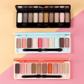 Ten Color Eyeshadow grapefruit wine red earth colormatte pearl hit color palette lasting nude make-up fly