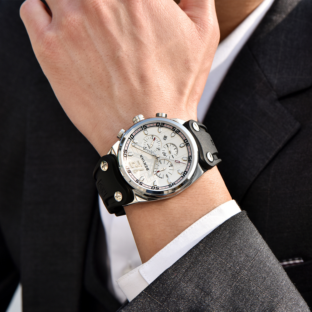 NEW BENYAR Mens Watch Chronograph 1