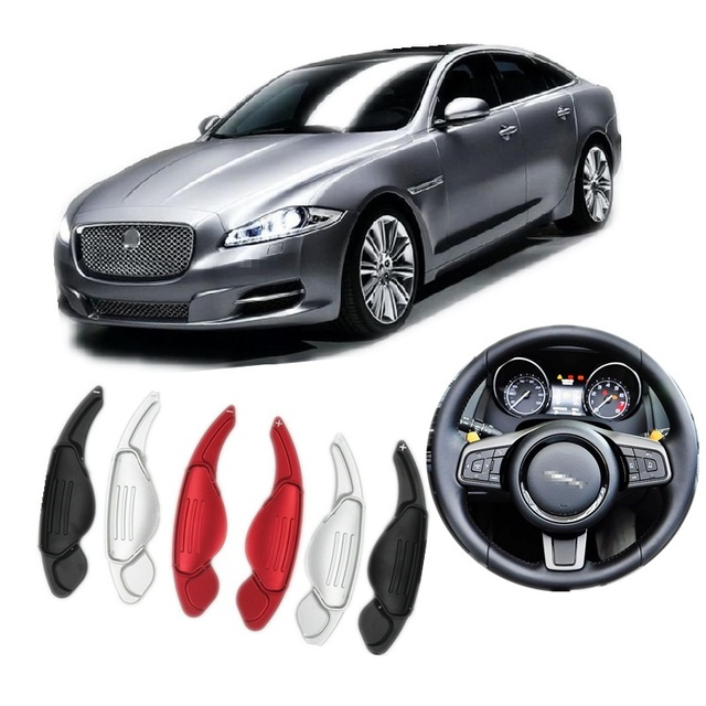 Steering Wheel Aluminum Extend Shift Paddle Suitalbe For Jaguar XF XJ XE  XFL F TYPE