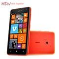 """100% abierto original nokia lumia 625 teléfono celular 4.7 """"pantalla táctil dual core gps wifi 3g y 4g de microsoft windows teléfono"""