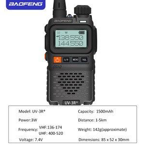 Image 3 - Baofeng UV 3R + Mini Radio Kid Walkie Talkie UV 3R Dual Band VHF UHF Portable Two Way Radio Ham Hf Transceiver UV 3R Woki Toki