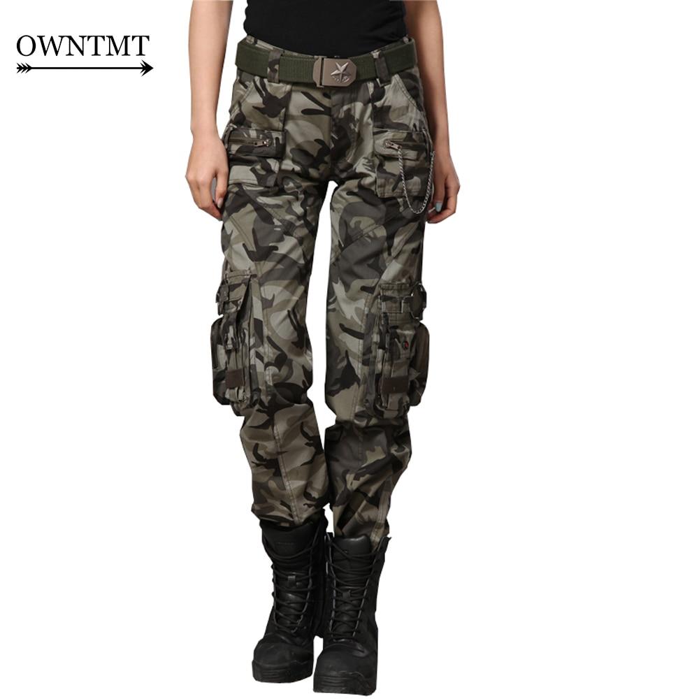 41aea71e32eb8 Joggers Pant Women s Cargo Pants Military Style Casual Hip Pop Trousers  Military Pantalon Homme Tactical plus