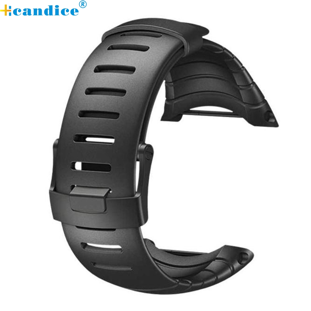 Luxury Rubber Watch Replacement Band Strap For SUUNTO CORE SS014993000 2017 quality pu rubber strap watch accessories for for suunto