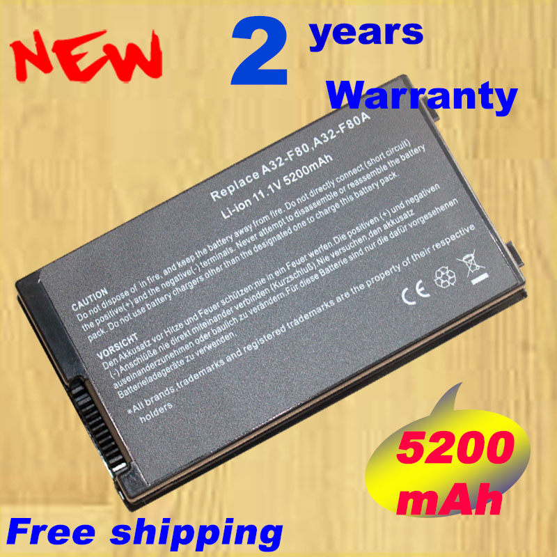 Laptop Battery For Asus A32 F80 A32 F80A 15G10N345800 F8 F80 F80H F80L F81 F83 F50 N80 N81 X61 X82 X83 X80 X85 X85L X88-in Laptop Batteries from Computer & Office