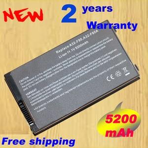 Image 1 - Laptop Battery For Asus A32 F80 A32 F80A 15G10N345800 F8 F80 F80H F80L F81 F83 F50 N80 N81 X61 X82 X83 X80 X85 X85L X88